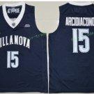 2017 Villanova Wildcats College Basketball Jerseys 15 Ryan Arcidiacono Blue University Stitched