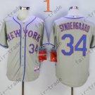 Noah Syndergaard Jersey Cool Base 2015 New York Mets Jerseys Home Away Grey