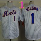 Mookie Wilson Jersey 2015 New York Mets Jerseys Throwback WHite