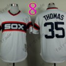 1983 Chicago White Sox Throwback Jersey 35 frank thomas Retro Jersey