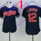 cleveland indians #12 francisco lindor 2016 Baseball Jersey  Authentic Stitched