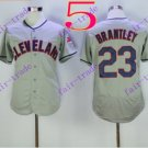 cleveland indians #23 michael bran 2016 Baseball Jersey  Authentic Stitched