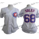 women chicago cubs #68 Jorge Soler 2015 Baseball Jersey Authentic Stitched