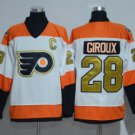 Philadelphia Flyers 2017 Stadium Series Jerseys Hockey #28 Claude Girouxn White