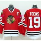Best 19 Jonathan Toews Jersey Chicago Blackhawks 2017 Winter Classic Ice Hockey Sports Red