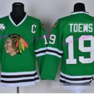 Best 19 Jonathan Toews Jersey Chicago Blackhawks 2017 Winter Classic Ice Hockey Sports Green