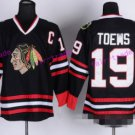Best 19 Jonathan Toews Jersey Chicago Blackhawks 2017 Winter Classic Ice Hockey Sports Black Style 1