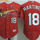 St. Louis Cardinals #18 Carlos Martinez Red Flexbase Jerseys
