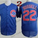Chicago Cubs #22 Addison Russell Blue 2015 Baseball Jersey Authentic Stitched