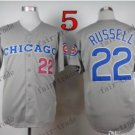 Chicago Cubs #22 Addison Russell Grey 2015 Baseball Jersey Authentic Stitched Style 3