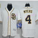 Flexbase 4 Wil Myers Jersey San Diego Padres Cool Base Baseball Jerseys White