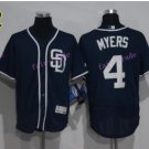 Flexbase 4 Wil Myers Jersey San Diego Padres Cool Base Baseball Jerseys Blue