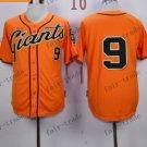 San Francisco Giants #9 Matt Williams Orange 2015 Baseball Jersey Authentic Stitched
