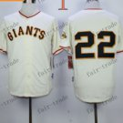 San Francisco Giants #22 Will Clark White 2015 Baseball Jersey Authentic Stitched