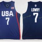 2017 Dream Twelve Team USA Jerseys #7 Kyle Lowry Navy