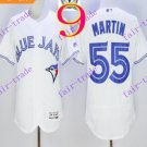 2016 Flexbase Stitched Toronto Blue Jays #55 Martin White Jersey