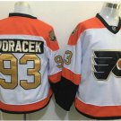50th Anniversary Flyers #93 Jakub Voracek White Winter Classic Gold Throwback Hockey Jerseys