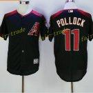 Arizona Diamondbacks 11 A.J Pollock Jersey Men Fashion Stitched  Baseball Jerseys Black