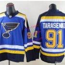 #91 vladimir tarasenko 2015 Ice Winter Jersey Blue Hockey Jerseys Authentic Stitched