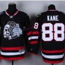 #88 patrick kane Skulls Black ICE Throwback Vintage Jersey ICE Hockey Jerseys Heritage Stitched