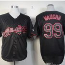 Cleveland Indians #99 Rick Vaughn 2015 Baseball Jersey Black Jerseys Authentic Stitched Style 1