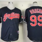 Cleveland Indians #99 Rick Vaughn 2015 Baseball Jersey Black Jerseys Authentic Stitched Style 3