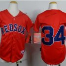 youth boston red sox #34 david ortiz 2015 Baseball Jersey Red Jerseys Authentic Stitched