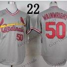 st.louis cardinals #50 adam wainwright 2015 Baseball Jersey  Authentic Stitched