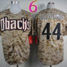 Paul Goldschmidt Jersey Authentic  Camo 1999 Turn Back Pinstripe Arizona Diamondback