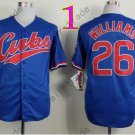 Billy williams Jersey 1969 Throwback Chicago Cubs Jerseys Blue