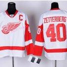 2016 Stadium Series Detroit Red Wings Hockey Jerseys 40 Henrik Zetterberg Jersey White