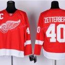 2016 Stadium Series Detroit Red Wings Hockey Jerseys 40 Henrik Zetterberg Jersey Red Style 1