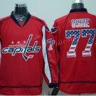 2016 New Washington Hockey Jerseys 77 T. J. Oshie Jersey Home Red USA Winter Classic Stitched Jersey