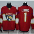 Florida Panthers #1 Roberto Luongo Red 2016 Hockey Jerseys Ice Winter Jersey All Stitched