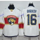 Florida Panthers #16 Aleksander Barkov White 2016 Hockey Jerseys Ice Winter Jersey All Stitched