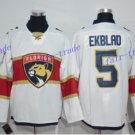 Florida Panthers #5 Aaron Ekblad White 2016 Hockey Jerseys Ice Winter Jersey All Stitched