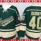 wild #40 devan dubnyk Green 2015 Ice Winter Hockey Jerseys Authentic Stitched