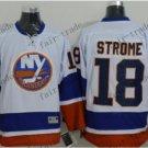 new york islanders #18 ryan strome White 2015 Ice Winter Hockey Jerseys Authentic Stitched