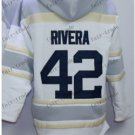 New York #42 mariano rivera Baseball Hooded Stitched Old Time Hoodies Sweatshirt Jerseys