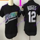 tampa bay rays #12 wade boggs 2016 Baseball Jersey Authentic Stitched