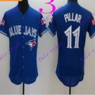 Toronto Blue Jays #11 Kevin Pillar 2016 Baseball Jersey Authentic Stitched