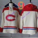 montreal canadiens White hoodie Hockey Hooded Sweatshirt Jerseys