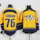 Nashville Predators #76 P.K Subban Yellow 2016 Hockey Jerseys Ice Winter All Stitched