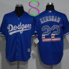 Los Angeles Dodgers Baseball Jerseys 22 Clayton Kershaw Jersey Blue Style 5