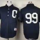 Cleveland Indians #99 Rick Vaughn 2015 Baseball Jersey Black Authentic Stitched Style 2