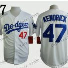 Los Angeles Dodgers #47 Howie Kendrick 2015 Baseball Jersey Authentic Stitched
