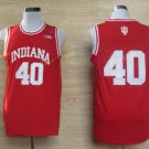 2017 College 40 Cody Zeller Jerseys Indiana Shirt Uniform  Material Team Color Red