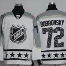 Men 2017 Hockey Jersey All Star White  #72 Sergei Bobrovsky