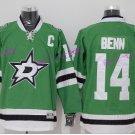 Dallas Stars 14 Jamie Benn Jersey Man For Sport Fans Ice Hockey Jerseys Home Green Road Away
