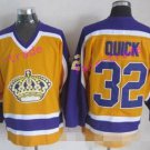 Los Angeles Kings Hockey 32 Jonathan Quick Yellow Jerseys Throwback Stadium Series 3th Alternate